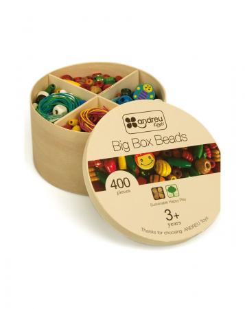 Cutie margele creatie bijuterii copii, 400 bucati [1]