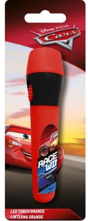 Lanterna LED copii Cars rosu 13.5 cm0