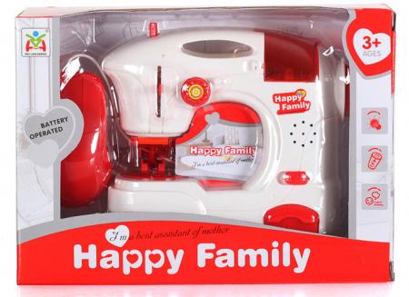 Masina de cusut Happy Family de jucarie cu accesorii1