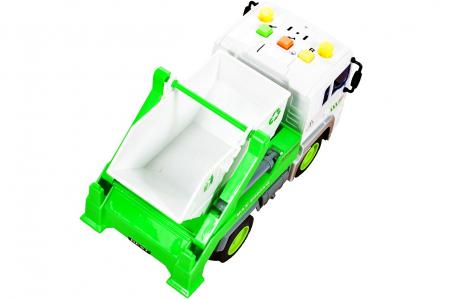 Masina de gunoi cu sunet si lumini 18x9,5x11cm [3]
