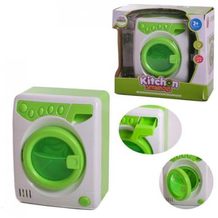 Masina de spalat de jucarie cu lumini si sunete verde1