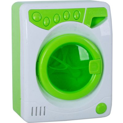 Masina de spalat de jucarie cu lumini si sunete verde0