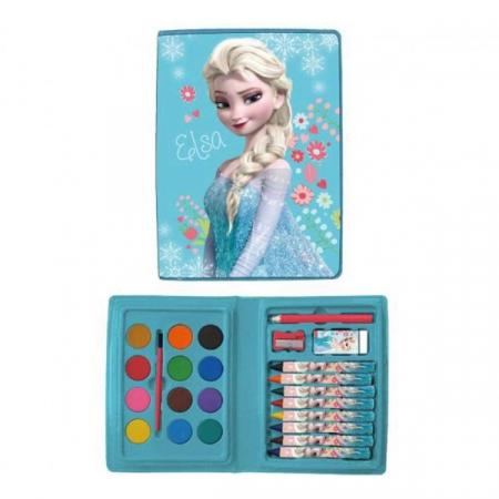 Mini trusa desen Frozen 24 piese0
