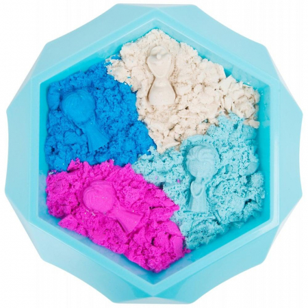 Nisip kinetic Frozen 4 culori0