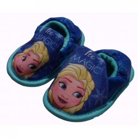 Pantofi interior Frozen albastru M220