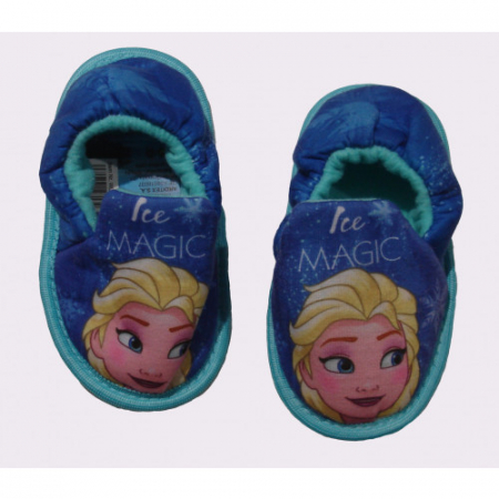 Pantofi interior Frozen albastru M281