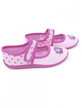 Pantofi interior roz Dizzy Super Wings M281