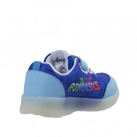Pantofi sport PJ Masks cu LED, albastru 304