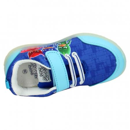 Pantofi sport PJ Masks cu LED, albastru 302