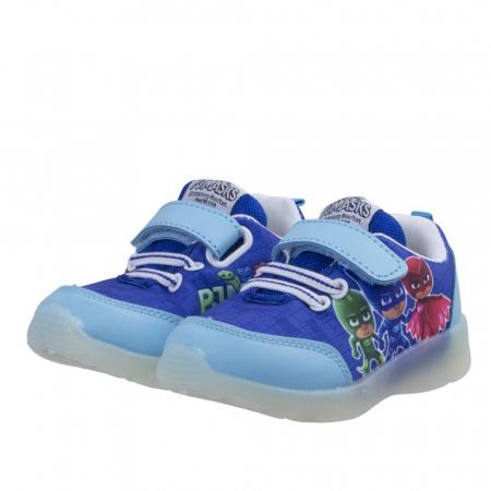 Pantofi sport PJ Masks cu LED, albastru 300