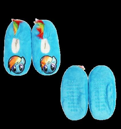 Papuci botosi de casa My Little Pony3