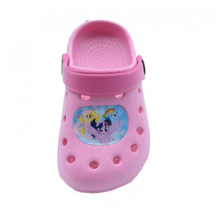 Papuci plaja clogs eva My Little Pony2