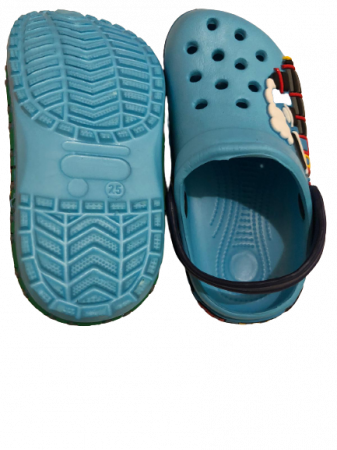 Papuci plaja clogs eva Tren, bleu [1]