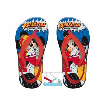 Papuci slapi flip flop Mickey Mouse cu bareta 24/251