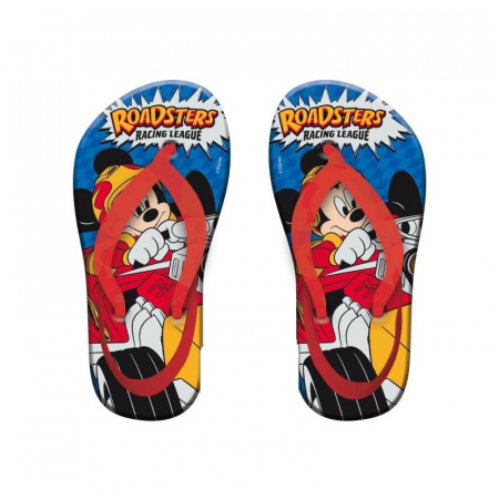 Papuci slapi flip flop Mickey Mouse cu bareta 24/250
