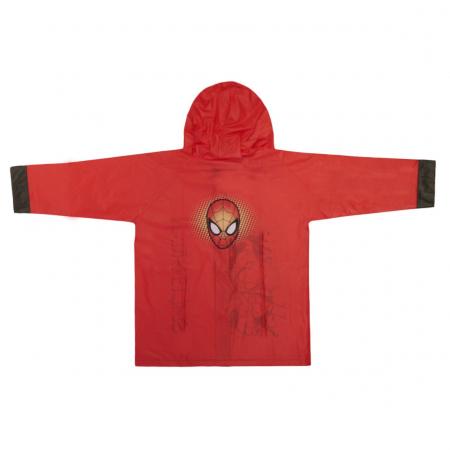 Pelerina ploaie, Spiderman, rosie, 8 ani1