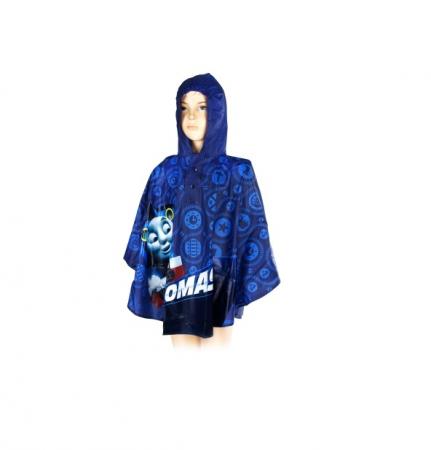 Pelerina ploaie Thomas si Prietenii, PVC, albastru [0]