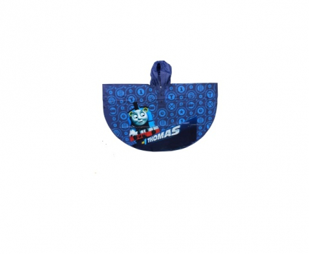 Pelerina ploaie Thomas si Prietenii, PVC, albastru 7-8 ani1