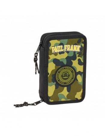 Penar echipat 2 compartimente Paul Frank army 28 piese0
