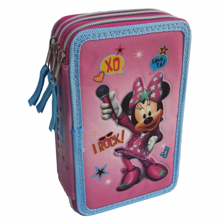 Penar echipat Minnie Mouse 3D 36 piese Carioca [0]