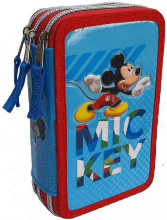 Penar Mickey Mouse Giotto triplu echipat 44 piese1