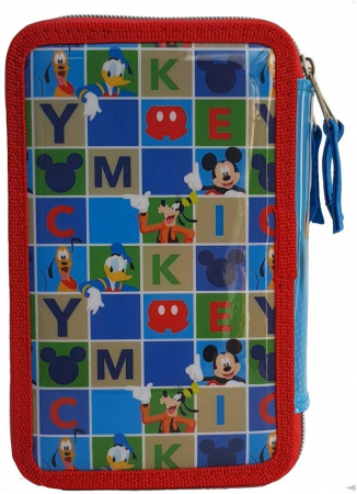 Penar Mickey Mouse Giotto triplu echipat 44 piese2