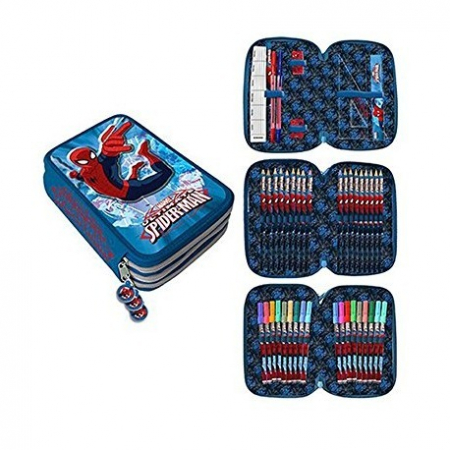 Penar Spiderman echipat 3 fermoare 43 piese0