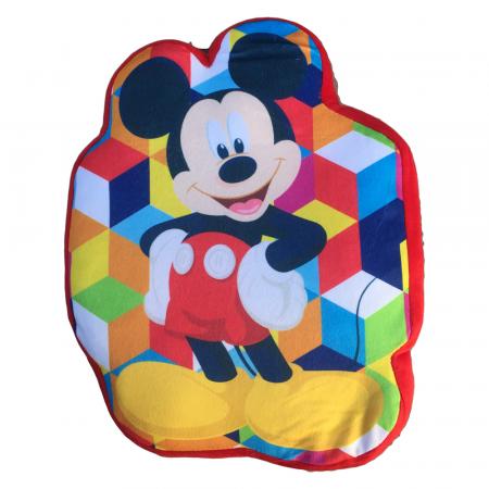 Perna catifea Mickey Mouse 35x22 cm0