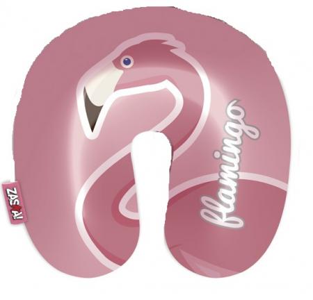 """Perna de gat pentru calatorii """"Flamingo"""" 2 fete0"""