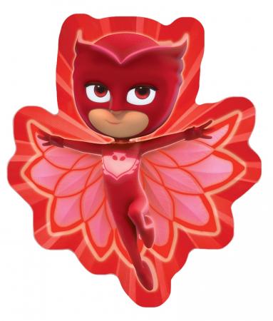 Perna PJ Masks, velur, forma Bufnita rosu [0]