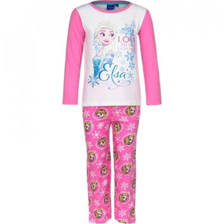 Pijama maneca lunga bumbac Frozen [0]