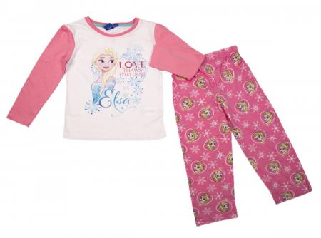 Pijama maneca lunga bumbac Frozen [1]