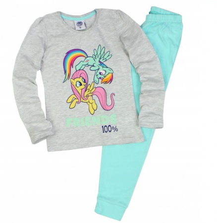 Pijama maneca lunga bumbac My Little Pony [0]
