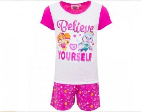 Pijama maneca scurta Paw Patrol Skye0