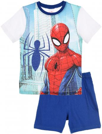 Pijama Spiderman maneca scurta0