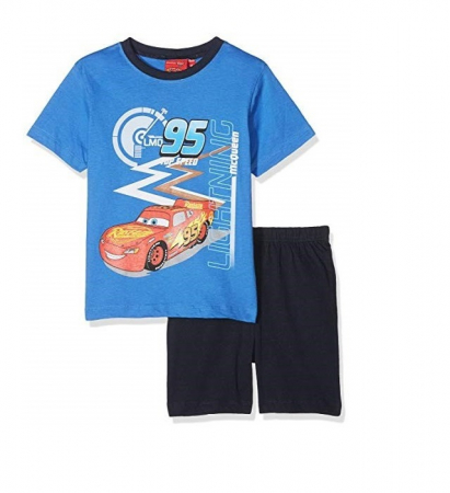 Pijama maneca scurta Cars0