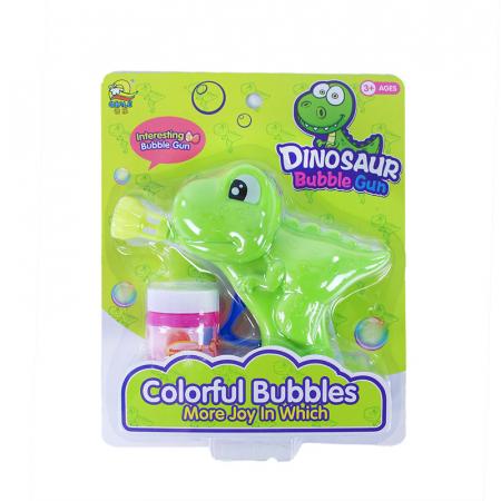 Pistol pentru baloane de sapun Dinozaur1