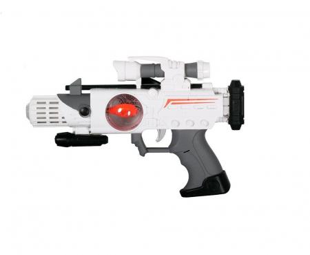 Pistol spatial cu sunet si lumini Mega Creative 28x22x5 cm0