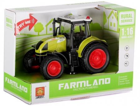 Tractor Farmland verde 1:162