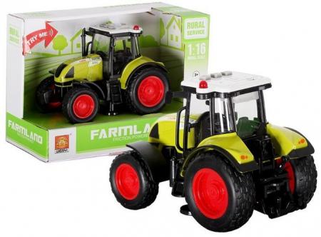Tractor Farmland verde 1:163