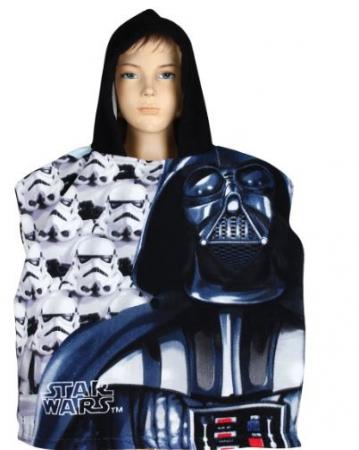 Prosop poncho cu gluga Star Wars 55 X 110 cm1