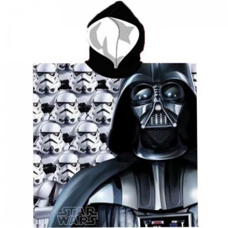 Prosop poncho cu gluga Star Wars 55 X 110 cm0