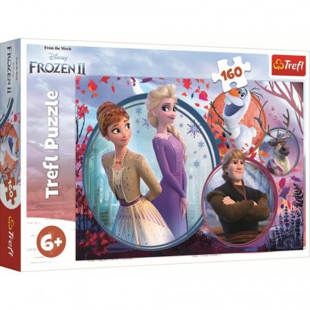 Puzzle Trefl, Disney Frozen II, 160 piese0
