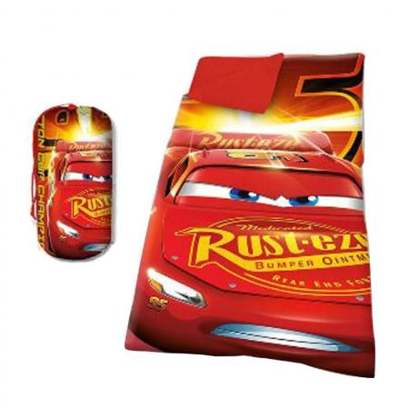 Sac de dormit Cars rosu 140x70 cm1