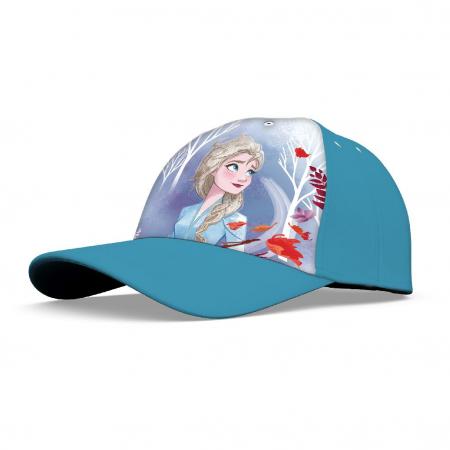 Sapca Frozen Anna, Elsa 52-54 cm0