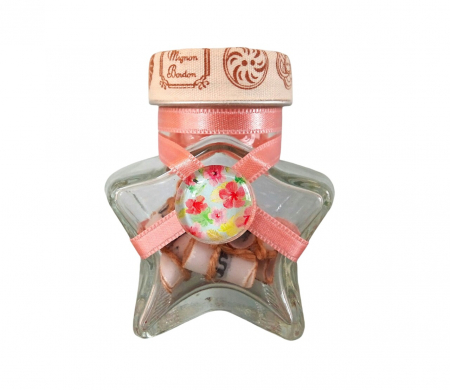Scrisoare cadou pentru mama - puzzle in mini-borcan (model 5) [0]