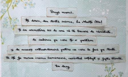 Scrisoare cadou pentru mama - puzzle in mini-borcan (model 6) [1]