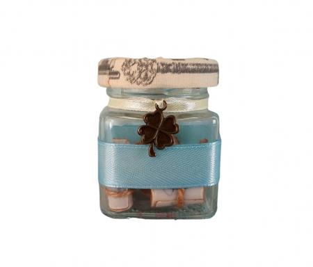 Scrisoare cadou pentru sotie - puzzle in mini-borcan (model 6) [0]