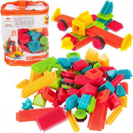 Set de construit Blocks Tip tepi multicolori, 90 piese [0]