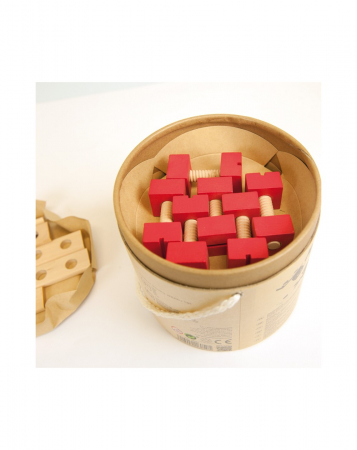 Set 56 piese lemn, Micul Mester [6]